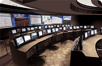 Command Console Furniture Operations Control Center